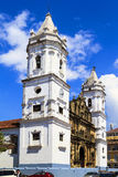 Old buildings  of Panama City, Royalty Free Stock Image