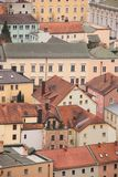 Old buildings in Passau, Germany. Abstract view of colourful buildings in Passau, Germany Royalty Free Stock Photos