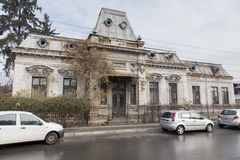 Old buildings-Ploiesti city Royalty Free Stock Photos