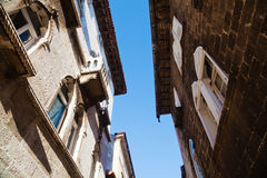 Old buildings in Porec, Croatia Stock Photos