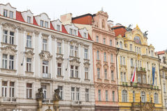 Old Buildings from Prague Royalty Free Stock Photo