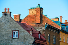 Old buildings in Quebec City Royalty Free Stock Image