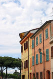 Old buildings Rimini Italy Royalty Free Stock Photos