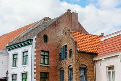 Old buildings in Roermond, Netherlands. Picture of old buildings in Roermond, Netherlands royalty free stock photography