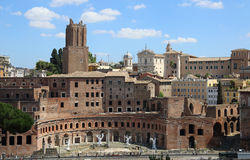 Old buildings in Rome Stock Photo