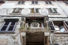 Old buildings in Rovinj Stock Photos
