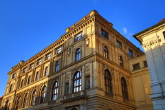 Old Buildings, Rytirska Street, Old Town, Prague, Czech Republic Royalty Free Stock Photo
