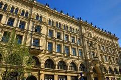 Old Buildings, Rytirska Street, Prague, Czech Republic Royalty Free Stock Photos