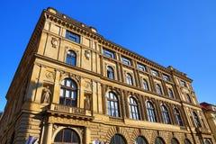 Old Buildings, Rytířská Street, Prague, Czech Republic Stock Images