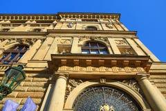 Old Buildings, Rytířská Street, Prague, Czech Republic Royalty Free Stock Images