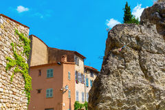 Old buildings in Seillans, Hautes Provence, France Stock Photo