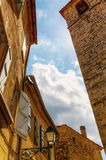 Old buildings in Seillans, Hautes Provence, France Royalty Free Stock Photo