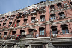 Old buildings in Shanghai Stock Photo
