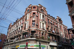 Old buildings in Shanghai Stock Photos