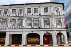 Old buildings in Singapore Stock Photography