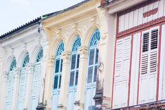Old buildings in Sino Portuguese style Stock Images