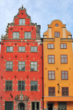 Old buildings in Stockholm Stock Photos