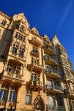 Old Buildings, Street Smetanovo nábřeží, New Town, Prague, Czech Republic Stock Image