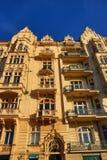 Old Buildings, Street: Smetanovo nábřeží, New Town, Prague, Czech Republic Royalty Free Stock Image