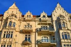 Old Buildings, Street: Smetanovo nábřeží, New Town, Prague, Czech Republic Royalty Free Stock Photo