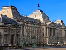 Old buildings and structures. Brussels, Belgium Attractions. Royalty Free Stock Images