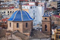 Old buildings in Valencia Royalty Free Stock Photography