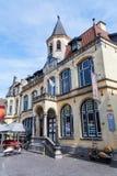 Old buildings in Valkenburg aan de Geul, Netherlands Royalty Free Stock Photo