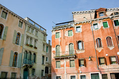 Old buildings in Venice Stock Photo
