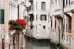 Old buildings of Venice. Outside Stock Image