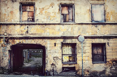 Old buildings in Vilnius city Royalty Free Stock Photos