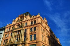 Old Buildings, Wenceslav Square, New Town, Prague, Czech Republic Stock Photography
