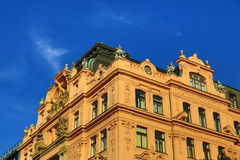 Old Buildings, Wenceslav Square, New Town, Prague, Czech Republic Stock Image
