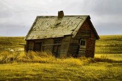 Old buildings in Western North Dakota. Old buildings left in western North Dakota Royalty Free Stock Photo