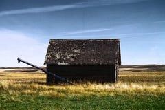 Old buildings in Western North Dakota. Old buildings left in western North Dakota Stock Photos