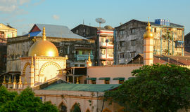 Old buildings in Yangon Royalty Free Stock Image
