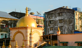 Old buildings in Yangon Royalty Free Stock Photo