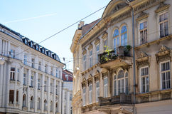 Old  buildings in Zagreb, Croatia. Royalty Free Stock Photos