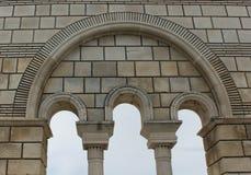 The old Bulgarian capital Pliska Stock Image