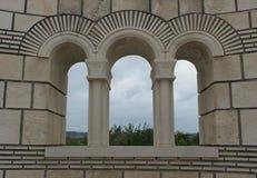 The old Bulgarian capital Pliska Stock Photography