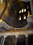 Old Bulgarian Cathedral interior Royalty Free Stock Photo