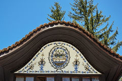Old bulgarian house in ethnographic village Koprivshtitsa Stock Images