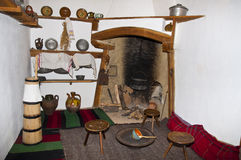 Old Bulgarian room Royalty Free Stock Photo