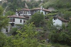 Old Bulgarian town Melnik Royalty Free Stock Photos