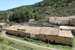 Old bull ring,Rubielos de Mora ,Spain Royalty Free Stock Image
