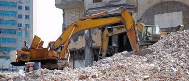 Old bulldozer Royalty Free Stock Photography