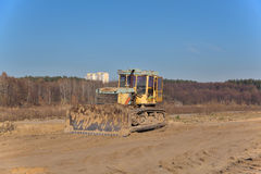 Old bulldozer Royalty Free Stock Photography