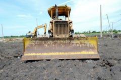Old bulldozer Royalty Free Stock Photos