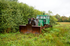 Old bulldozer Royalty Free Stock Photo