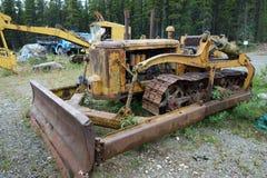 An old bulldozer at jade city. Stock Images