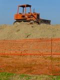 old bulldozer Royalty Free Stock Photo